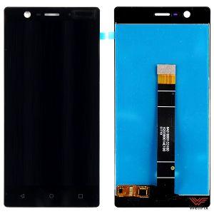 Изображение Дисплей Nokia 3 в сборе черный