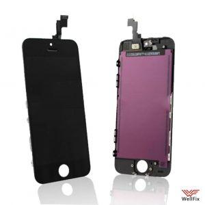 Дисплей Apple iPhone 5s с тачскрином черный
