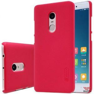 Изображение Пластиковый чехол для Xiaomi Redmi 4 красный (Nillkin)