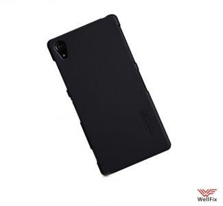Чехол Sony Xperia Z2 черный (Nillkin, пластик)