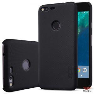 Изображение Пластиковый чехол для Google Pixel XL черный (Nillkin)