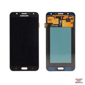 Дисплей Samsung Galaxy J7 SM-J700 с тачскрином черный