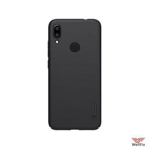 Изображение Пластиковый чехол для Xiaomi Redmi Note 7 черный (Nillkin)