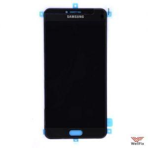 Дисплей Samsung Galaxy C7 с тачскрином черный
