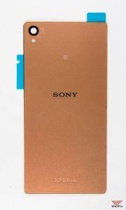 Изображение Задняя крышка Sony Xperia Z3 D6603 золотая