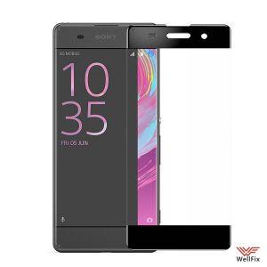 Изображение Защитное 5D стекло для Sony Xperia XA (F3112) черное