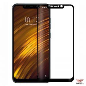 Изображение Защитное 3D стекло для Xiaomi Pocophone F1 черное