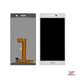Дисплей Huawei Ascend P7 с тачскрином белый