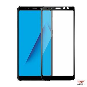 Изображение Защитное 5D стекло для Samsung Galaxy A8 Plus (2018) SM-A730F черное