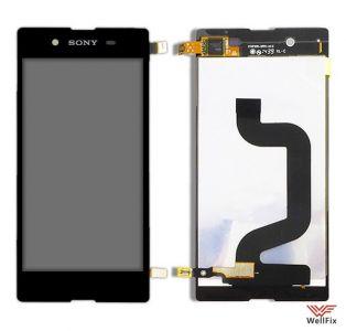 Дисплей Sony Xperia E3 D2202 с тачскрином черный
