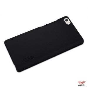 Изображение Пластиковый чехол для Xiaomi Mi Note черный (Nillkin)