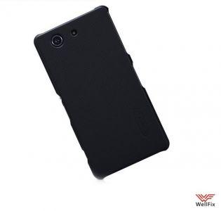 Изображение Пластиковый чехол для Sony Xperia Z3 Compact D5803/ D5833 черный (Nillkin)