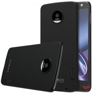 Изображение Пластиковый чехол для Motorola Moto Z черный (Nillkin)
