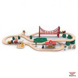 Изображение Железная дорога Xiaomi Mitu Track Building Block Electric Train Set
