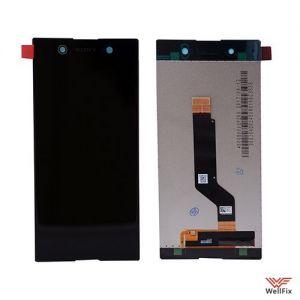 Дисплей Sony Xperia XA1 Ultra с тачскрином черный