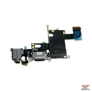 Шлейф для Apple iPhone 6 с разъемом зарядки черный