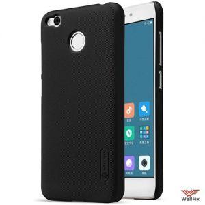 Изображение Пластиковый чехол для Xiaomi Redmi 4X черный (Nillkin)