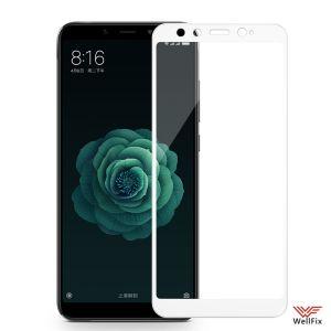 Изображение Защитное 3D стекло для Xiaomi Mi A2 / Mi6X белое