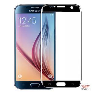 Изображение Защитное 5D стекло для Samsung Galaxy S6 Edge SM-G925F черное