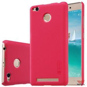 Изображение Пластиковый чехол для Xiaomi Redmi 3 Pro красный (Nillkin)