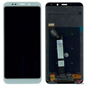 Изображение Дисплей для Xiaomi Redmi 5 Plus в сборе белый