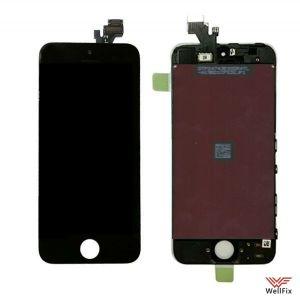 Дисплей Apple iPhone 5 с тачскрином черный