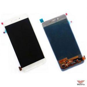 Дисплей OnePlus X с тачскрином белый