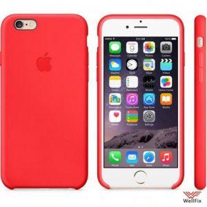 Изображение Чехол для Apple iPhone 6, 6s Leather Case красный