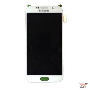 Дисплей Samsung Galaxy S6 SM-G920F с тачскрином белый