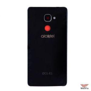 Изображение Задняя крышка Alcatel Idol 4S черная