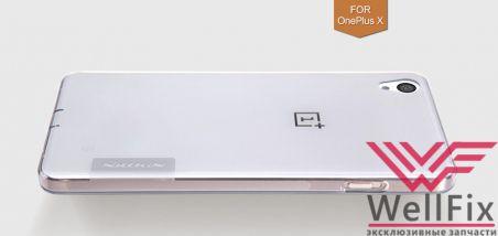 Чехол OnePlus X белый (Nillkin, силикон)