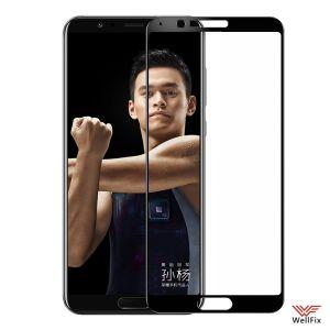 Изображение Защитное 3D стекло для Huawei Honor V10 (View 10) черное