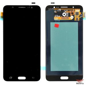 Изображение Дисплей Samsung Galaxy J7 (2016) SM-J710F в сборе черный