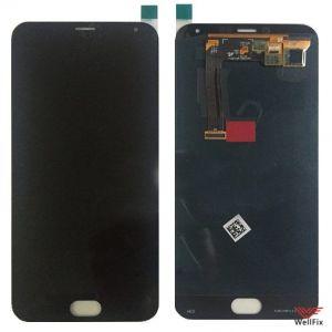 Дисплей Meizu MX5 с тачскрином черный