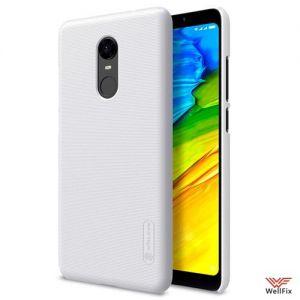 Изображение Пластиковый чехол для Xiaomi Redmi 5 Plus белый (Nillkin)