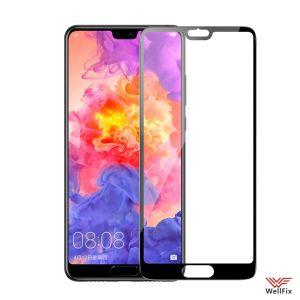 Изображение Защитное 3D стекло для Huawei P20 черное