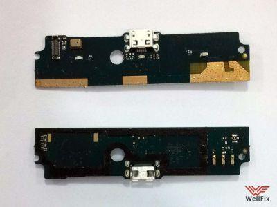 Шлейф Xiaomi Redmi Note на разъем зарядки / микрофон