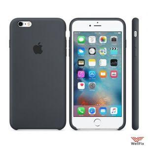 9e632bb087dac Силиконовый чехол для iPhone 6 Plus/6s Plus черный купить в Москве ...