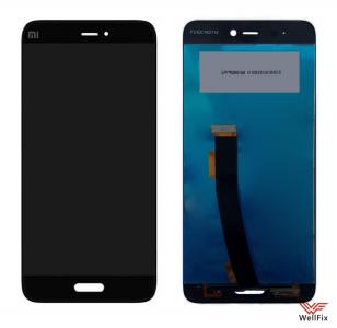 Дисплей Xiaomi Mi5 с тачскрином черный