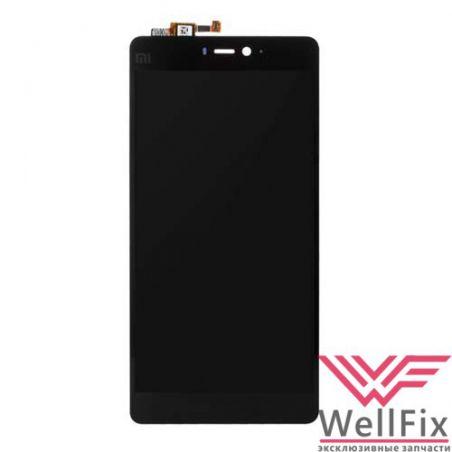 Дисплей Xiaomi Mi4 с тачскрином черный