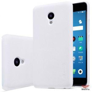 Изображение Пластиковый чехол для Meizu M5 белый (Nillkin)