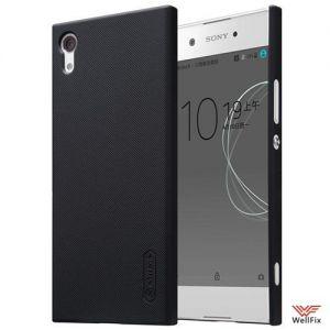 Изображение Пластиковый чехол для Sony Xperia XA1 черный (Nillkin)