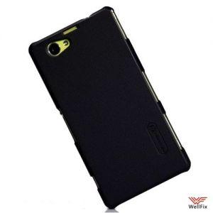 Изображение Пластиковый чехол для Sony Xperia Z1 Compact D5503 черный (Nillkin)