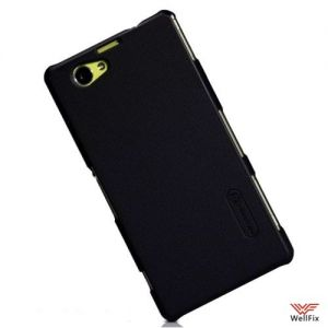Чехол Sony Xperia Z1 Compact D5503 черный (Nillkin, пластик)