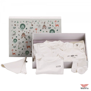 Изображение Комплект одежды Xiaomi для новорождённого (59см)
