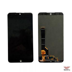 Изображение Дисплей для Meizu 15 Plus в сборе черный