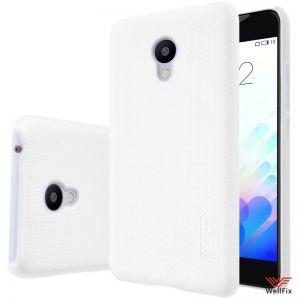 Изображение Пластиковый чехол для Meizu Pro 5 белый (Nillkin)