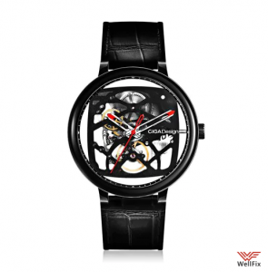Изображение Механические часы Xiaomi CIGA Design Creative Leather Strap Automatic Mechanical черные