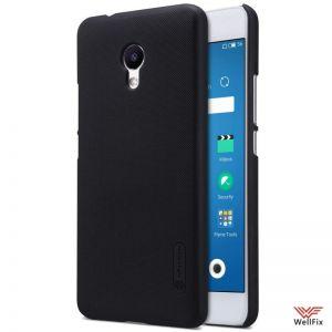 Изображение Пластиковый чехол для Meizu M5s черный (Nillkin)