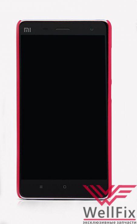 Чехол Xiaomi Mi4i красный (Nillkin, пластик)